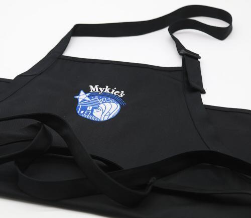 Mykie's Black Apron