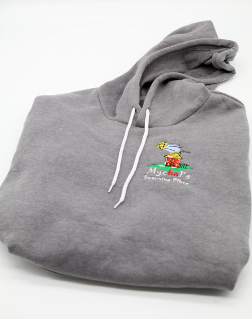 Mychal's Learning Place Gray Pullover Hoodie