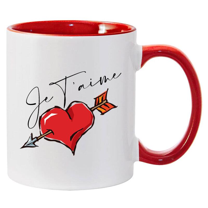 11oz Red Ceramic Mug